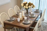Super Casual Everyday Kitchen Table Setting and ...