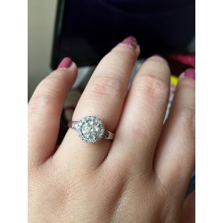 Small Crop Of Wedding Ring Finger