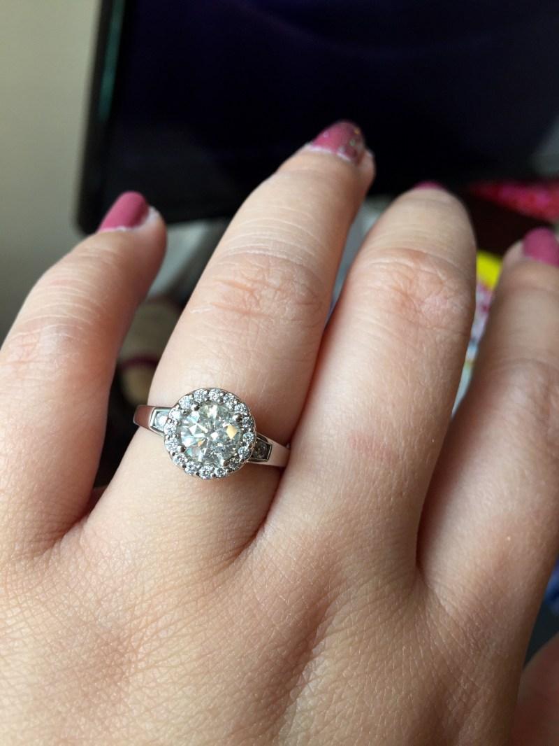 Large Of Wedding Ring Finger
