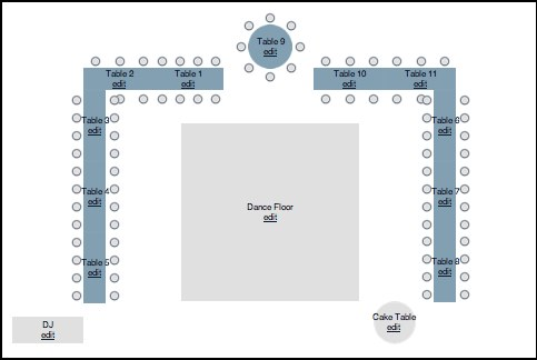 Which Table Layout Round Or Long