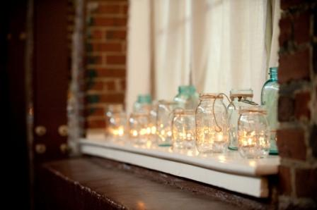 Ideas for window decorations for the reception!
