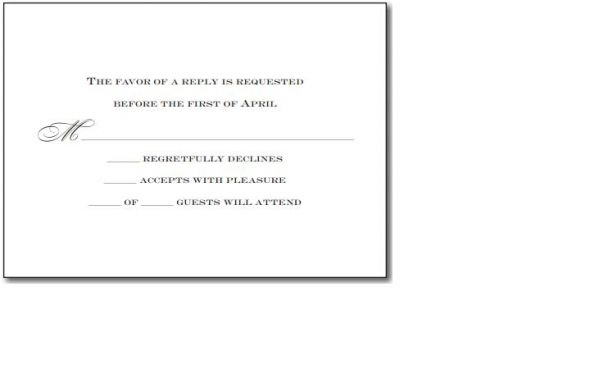 Invitation wording for no extra guests