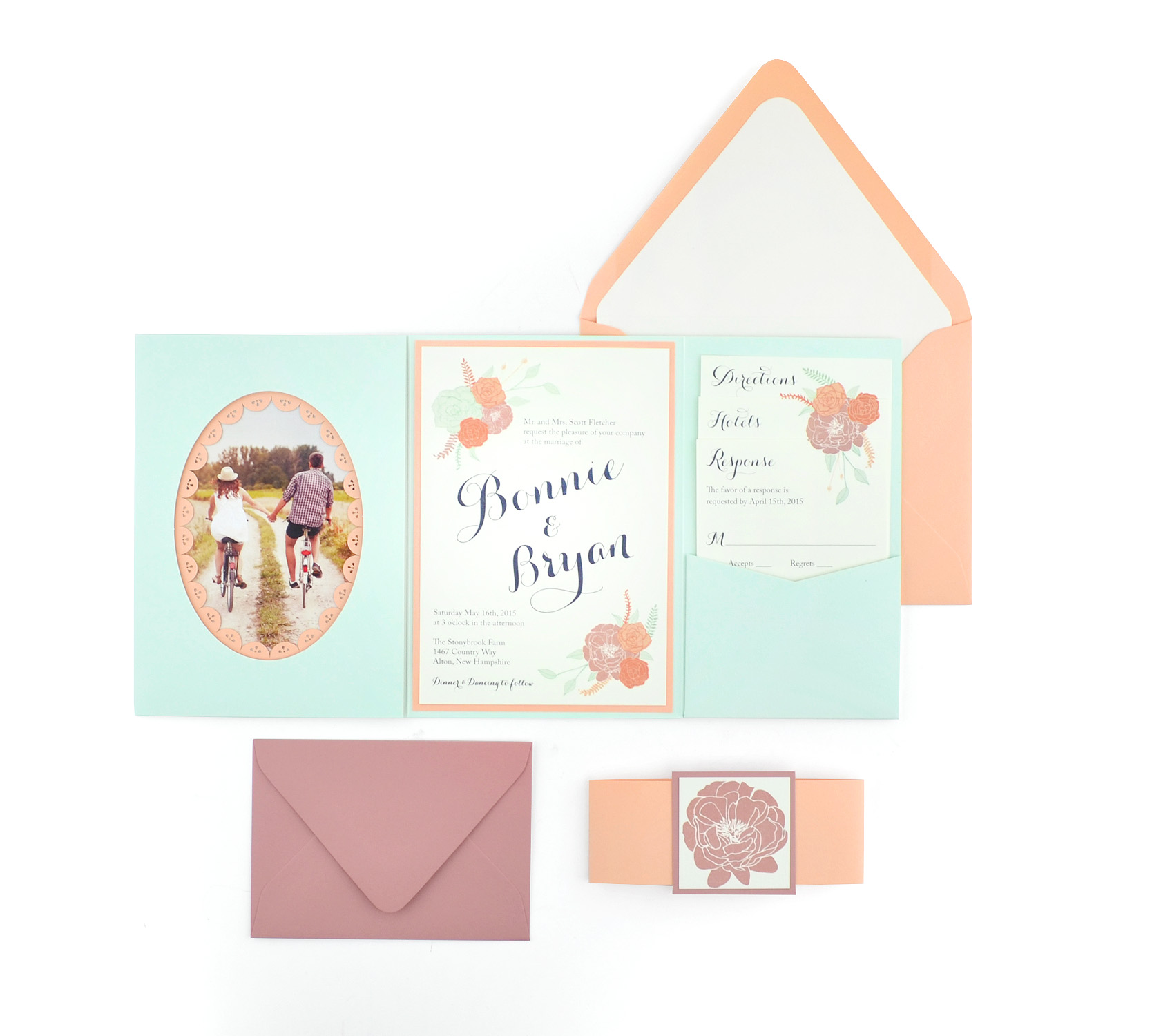 invitations stationery diy pocket wedding invitations Pocket Wedding Invitation materials at the best possible prices new suite photo 1