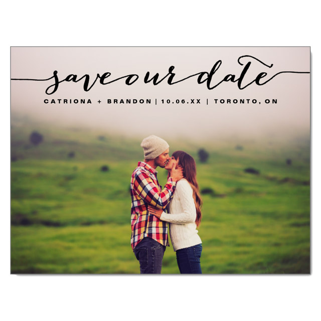 Save-the-dates Posts
