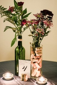 Make Your Own Wine-themed Centerpieces for Under $5!
