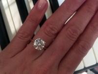 Real Engagement Rings: Round Diamonds | Weddingbee