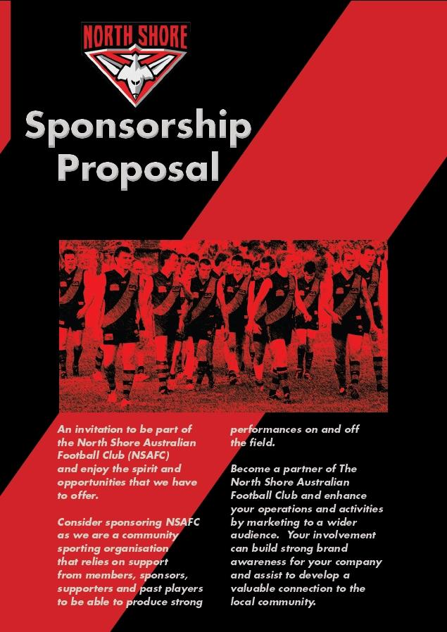 sporting sponsorship proposal