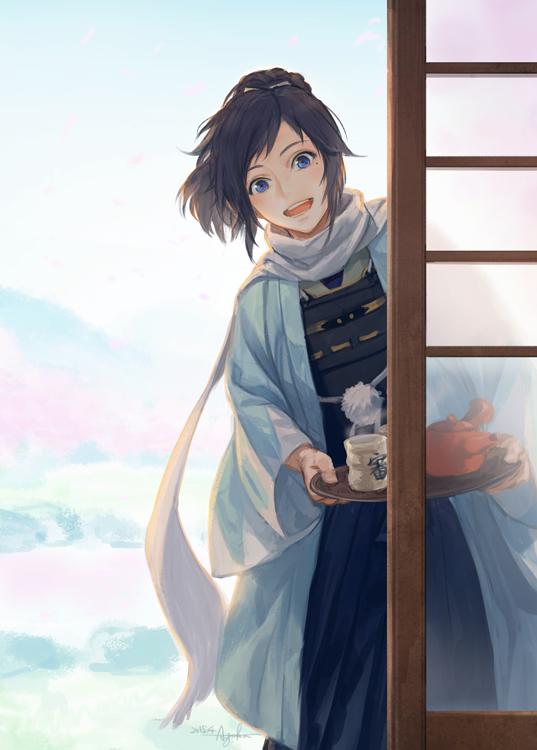 Japanese Samurai Girl Wallpaper 刀剑乱舞 动漫游戏高清手机壁纸下载 动漫新闻 动漫论坛 动漫美图 幻之羁绊动漫网