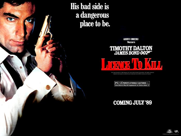 Licence To Kill James Bond Movies