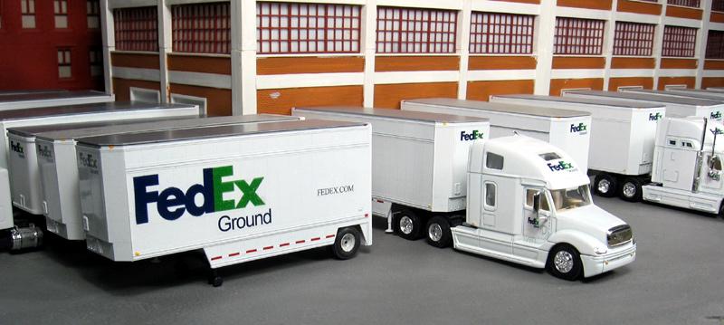 FedEx Ground Truck Terminal