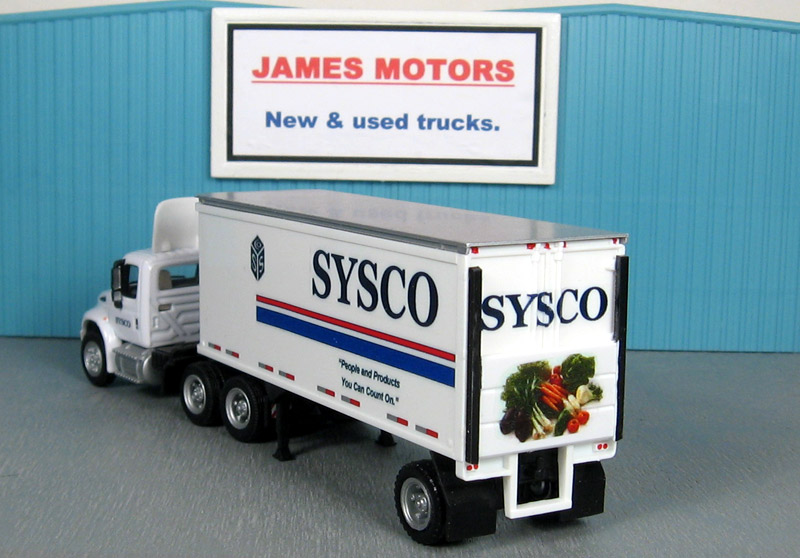 Sysco Foods International 4400  27\u0027 Liftgate Trailer