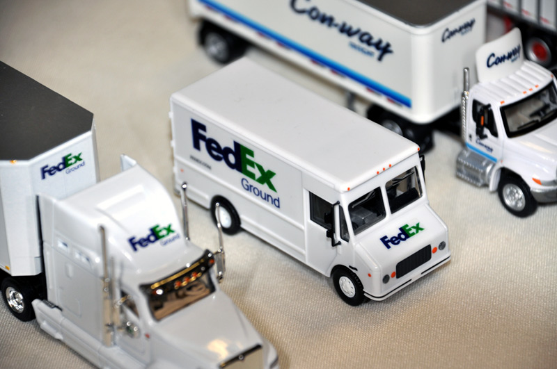 FedEx Ground Truck Fleet