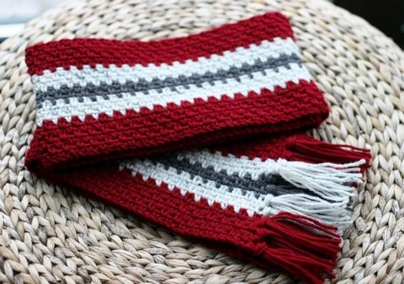 Crochet Scarves Patterns For Beginners 1001 Crochet