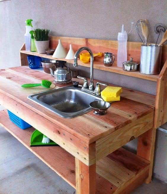 10 fun outdoor mud kitchens for kids garden ideas 1001