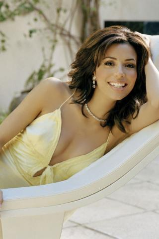 The Best Wallpapers For Iphone X Best Looking Woman Eva Longoria 320x480 Iphone Itouch