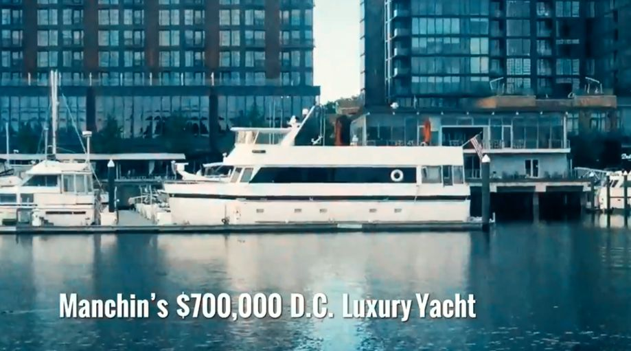Fact-check Does Joe Manchin have a $700,000 Luxury Yacht?