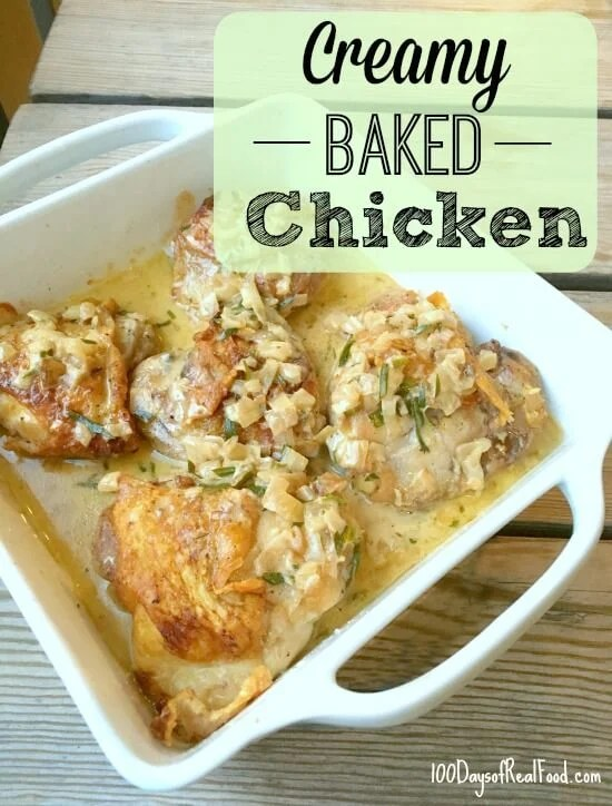 Creamy Baked Chicken Recipe