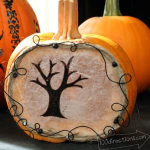 Little pumpkin luminary feature Jen Goode art