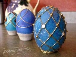 Faux Faberge Egg Tutorial