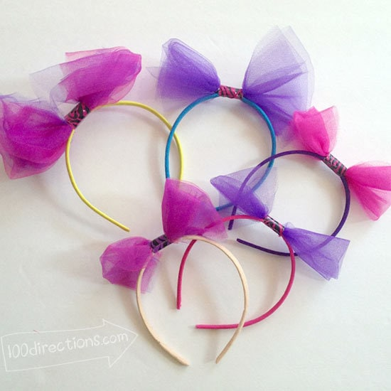 All kinds of fun party headbands