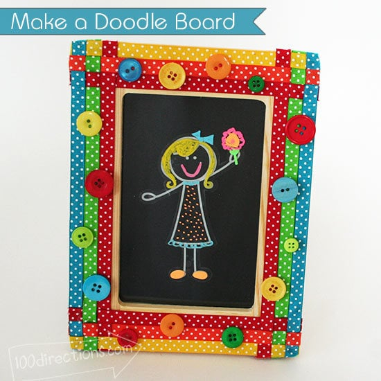 Make a doodle board for your kids