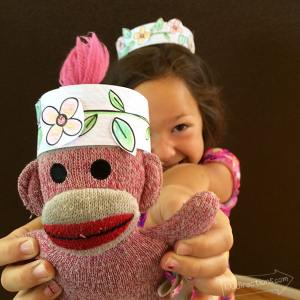 Make a Paper Flower Crown