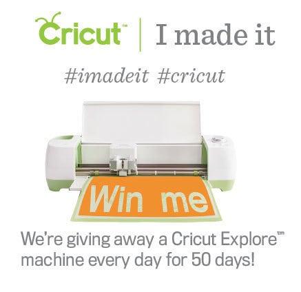 Cricut IMadeIt Challenge