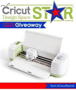 Enter for a chance to win your own Cricut Explore!