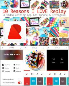 Replay a free video editing app for iPhone