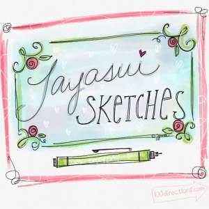 Tayasui Sketches Pro - art by Jen Goode on ipad