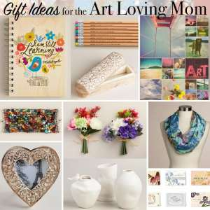 Gift Ideas for the Art Loving Mom from World Market and Shutterfly