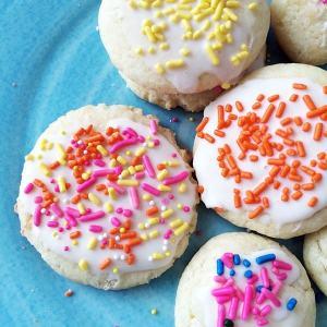 Super easy cake mix cookies