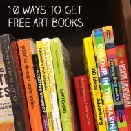 10 Ways to Get Free Art Books