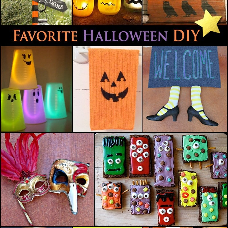 favorite halloween diy crafts and recipes 100 directions. Black Bedroom Furniture Sets. Home Design Ideas
