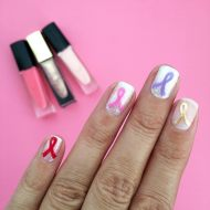 Easy Support Ribbon Nail Art