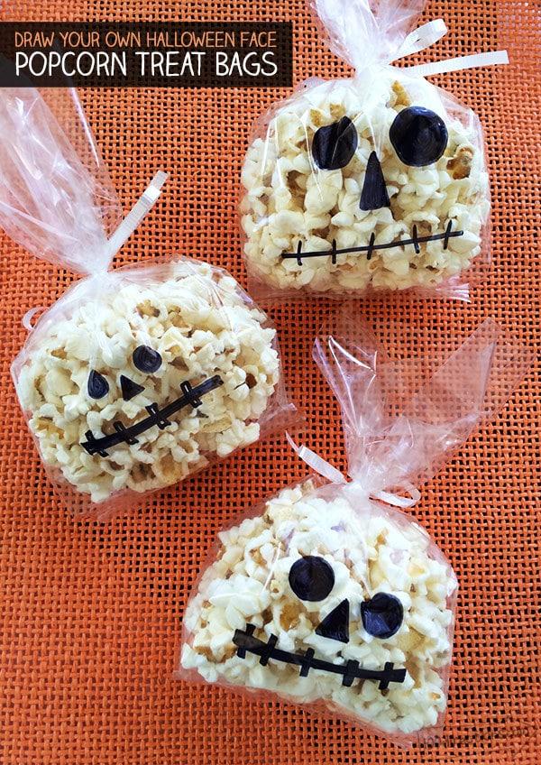crafts spooky popcorn treats 100