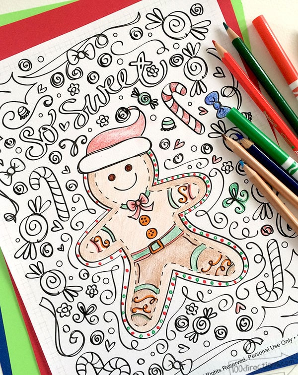 Coloring Pages - 100 Directions