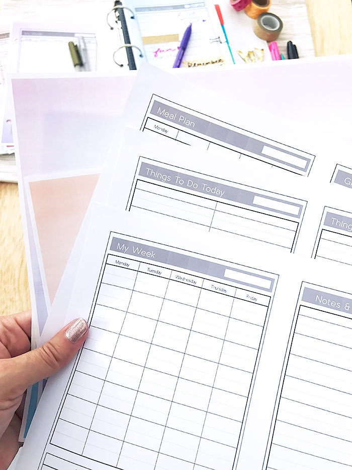 Make Your Own Easy DIY Planner