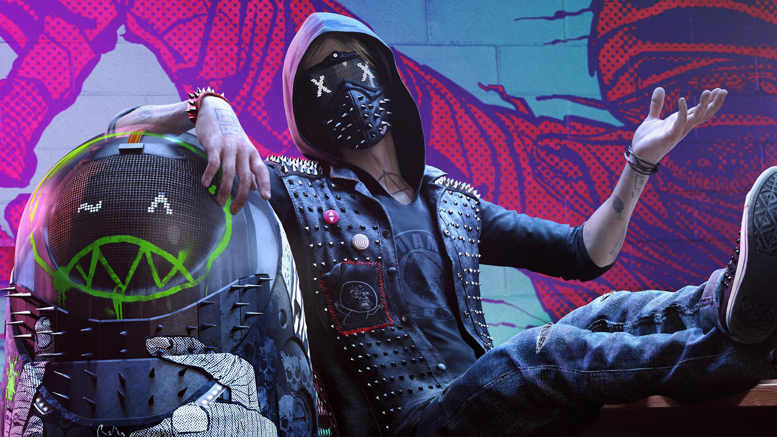 Download 3d Wallpaper Apk Wrench Watch Dogs 2 Wallpapers Wallpapers Hd
