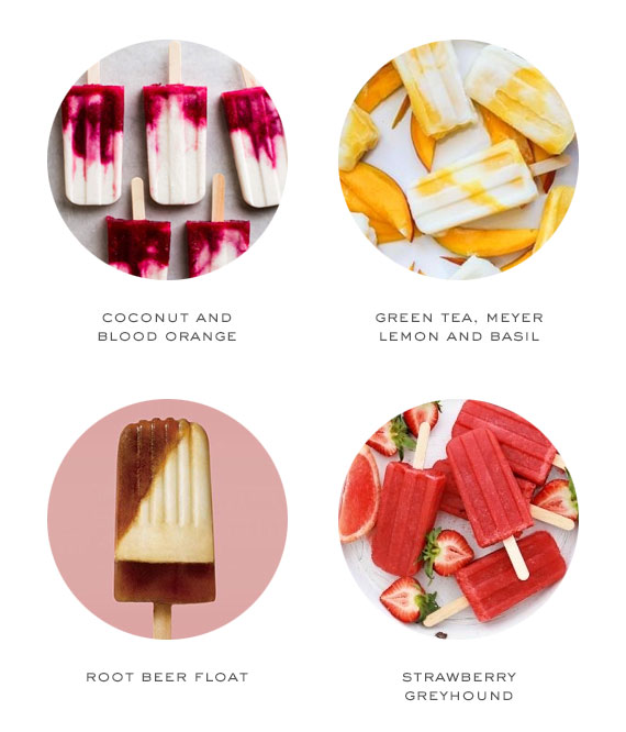 popsicle flavor ideas | 100 Layer Cake