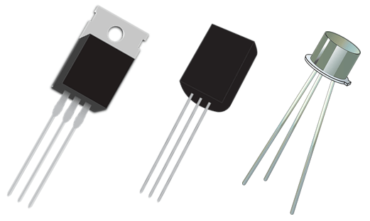 transistor sizes