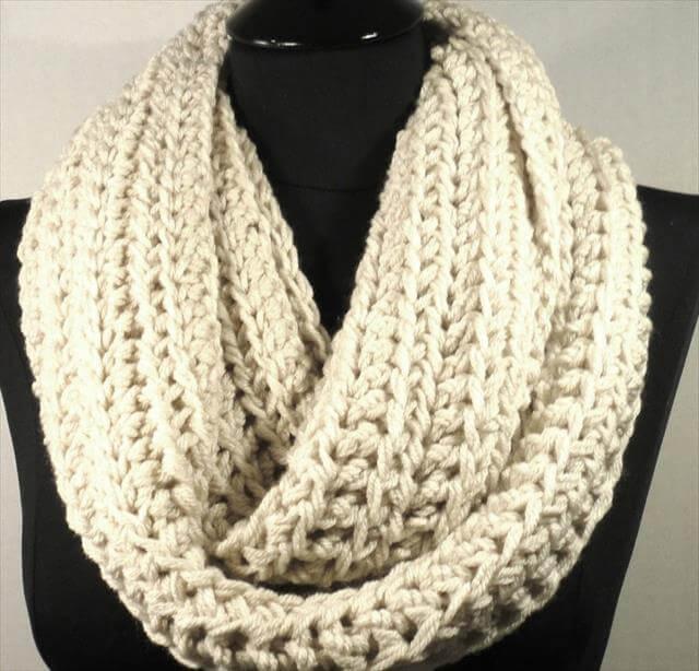 Crochet Infinity Scarves Patterns - Erieairfair