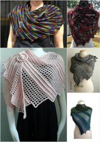 10 FREE Crochet Shawl Patterns for Women's | 101 Crochet