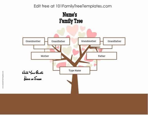 four generation family tree