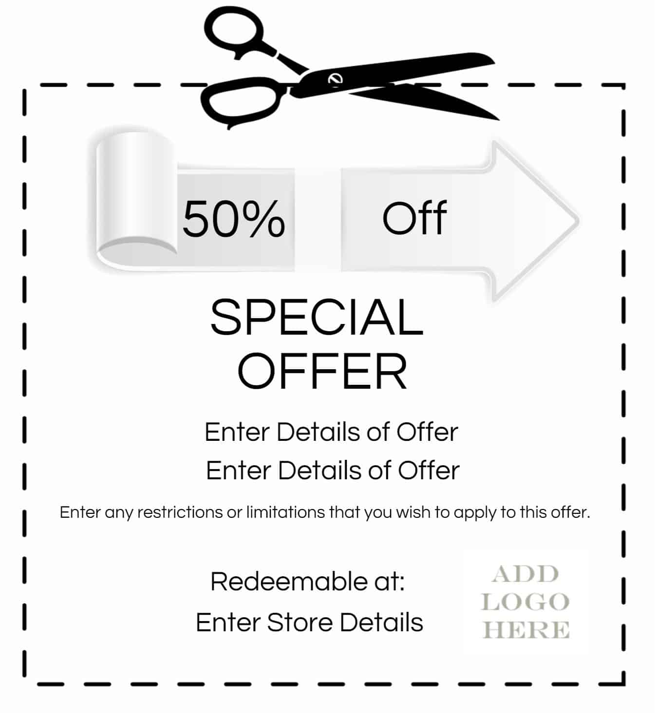 make your own coupon template free