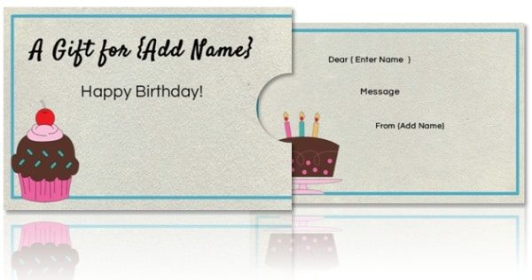 print a birthday card free