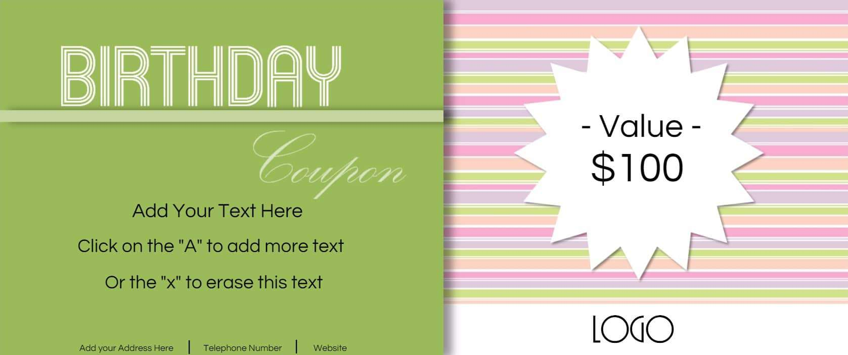 coupon template for word example of sorry letter standard payslip birthday gift coupon template sample customer service resume birthday coupons 14 birthday gift coupon templatehtml coupon template for word coupon template