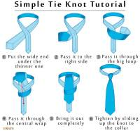 Tying a Simple (Small/Oriental) Tie Knot: Step By Step ...