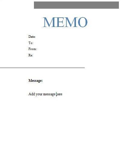 Free Microsoft Word Memo Template 101 Letterhead Templates