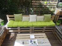 DIY Pallet Patio Furniture - Pallet Deck